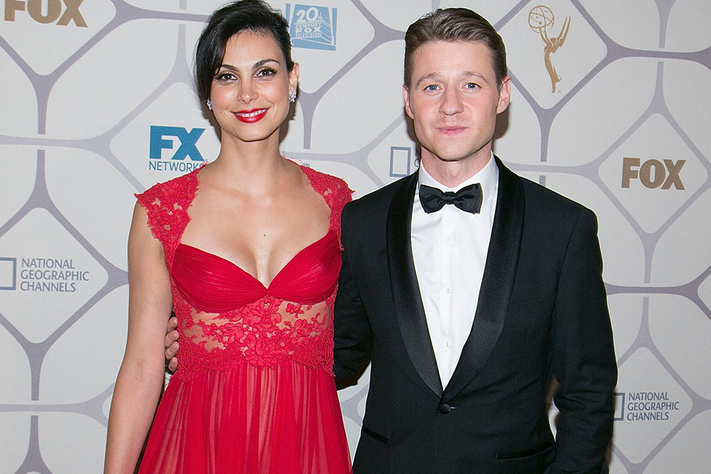 Ben McKenzie and Morena Baccarin 2015 Emmys