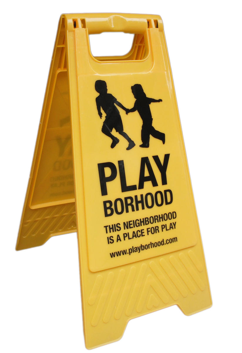 playborhood yellow sign