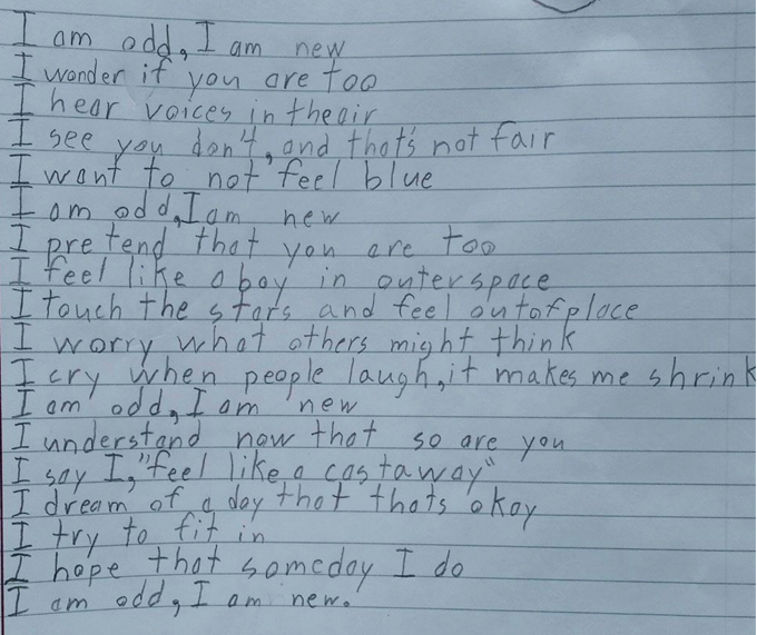 We Can All Relate to This 10-Year-Old's Poem About Life With Autism