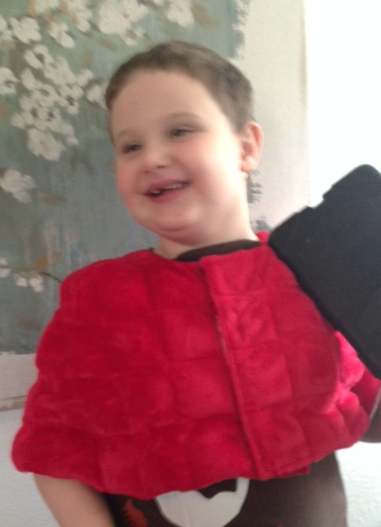 Beyond Weighted Vests: Moms Create Therapy Blankets & Capes!