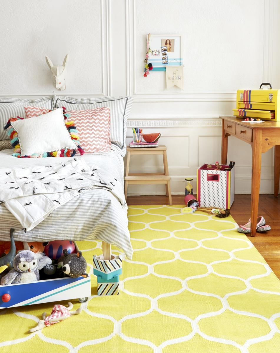 Declutter With Color: 5 Organizing Ideas for Kids' Rooms