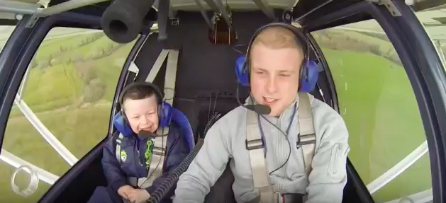Ground Control to Captain Robbie! Big Brother Takes Sibling With Special Needs on Flight of a Lifetime