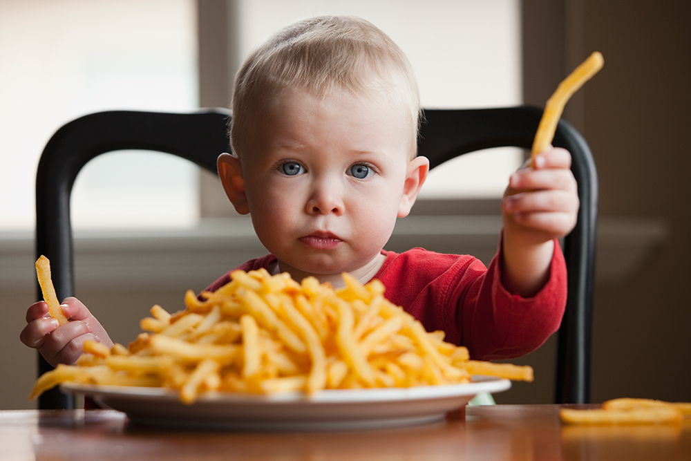 Is Your Baby A Junk Food Junkie? | Parents