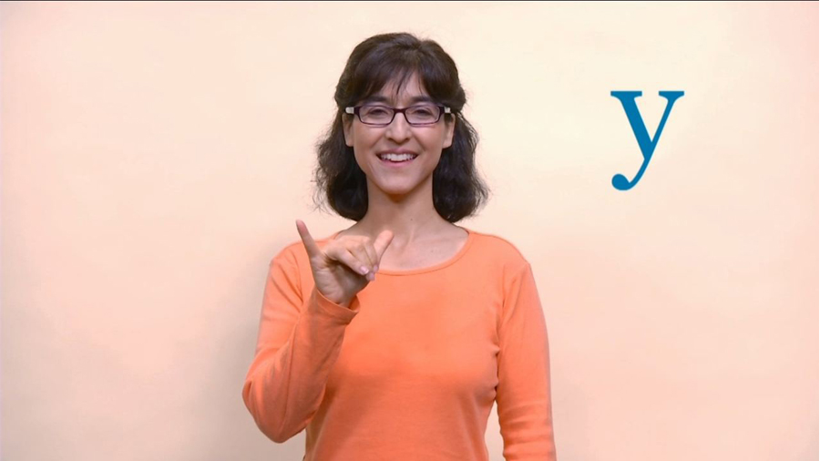 Baby Sign Language: Alphabet W to Z