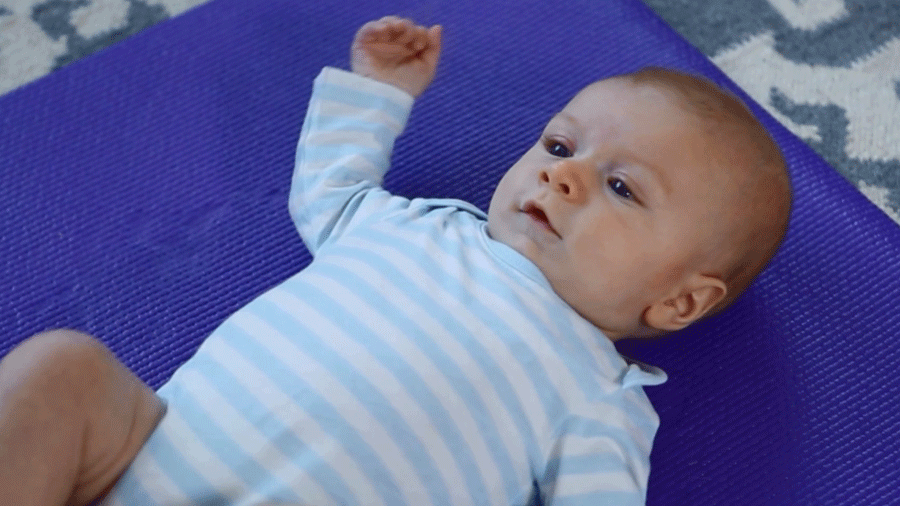 Exercise With Baby: Triceps and Shoulders