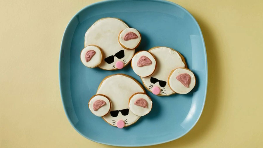 Baby Shower Ideas: How To Make 3 Blind Mice Cookies