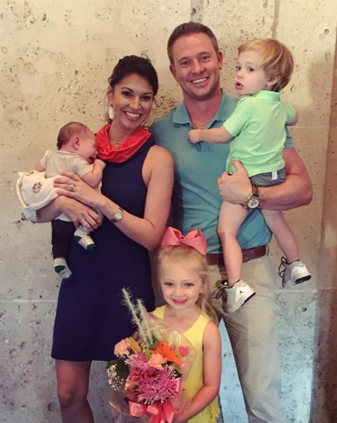 Melissa Rycroft Strickland and family