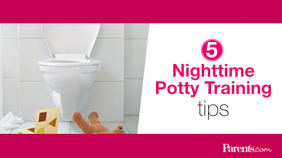 5 Tips to Make Nighttime Potty Training Easier