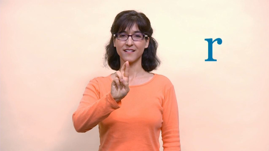 Baby Sign Language: Alphabet Q to V