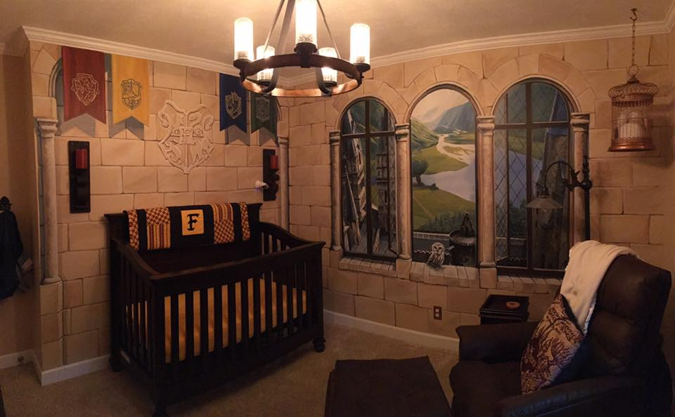 harry potter dream nursery