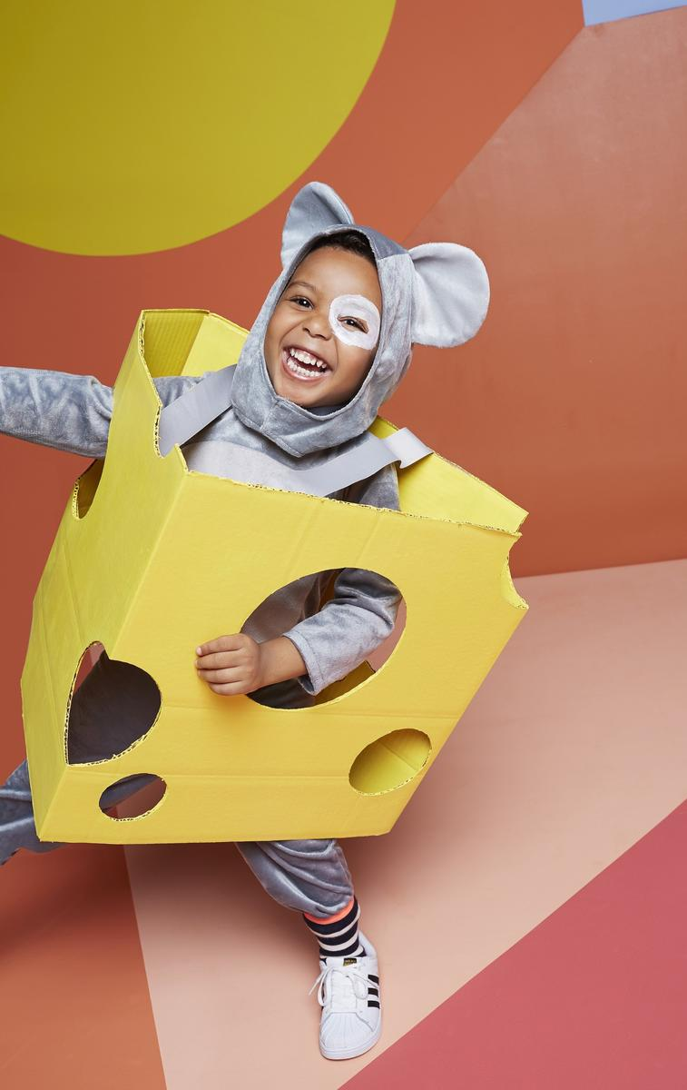 The Big Cheese Costume Instructions