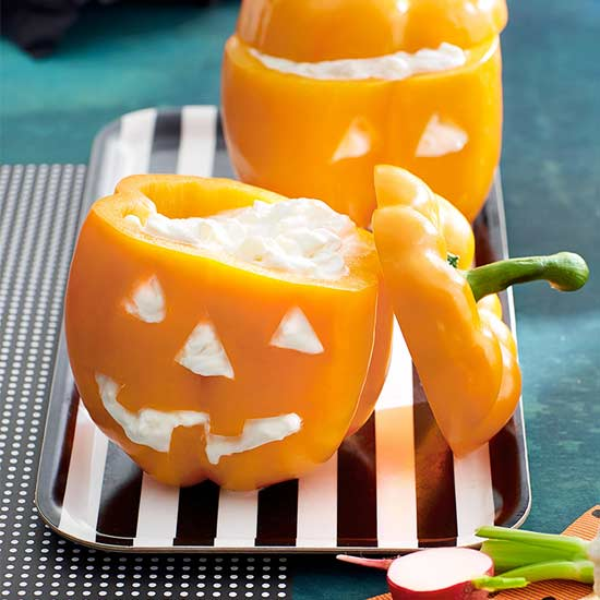 Pepper Jack O'Lanterns recipe image