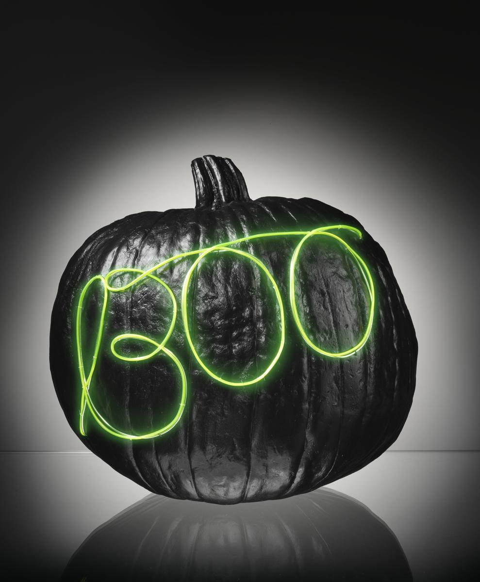 No Candles Required: DIY Light-Up Pumpkins