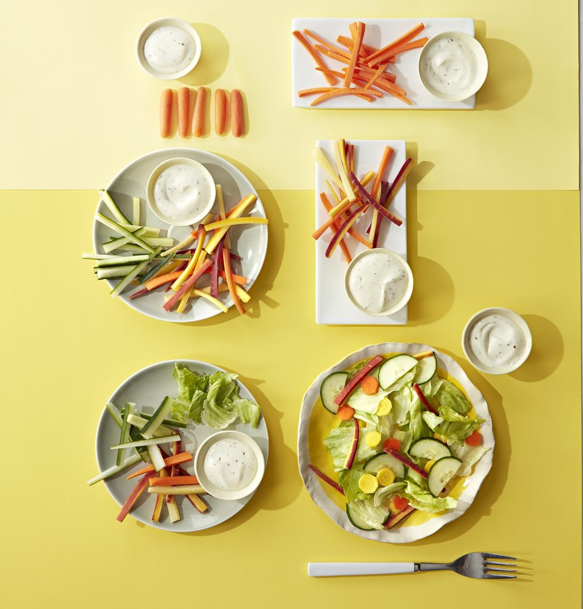 From Baby Carrots to Salad