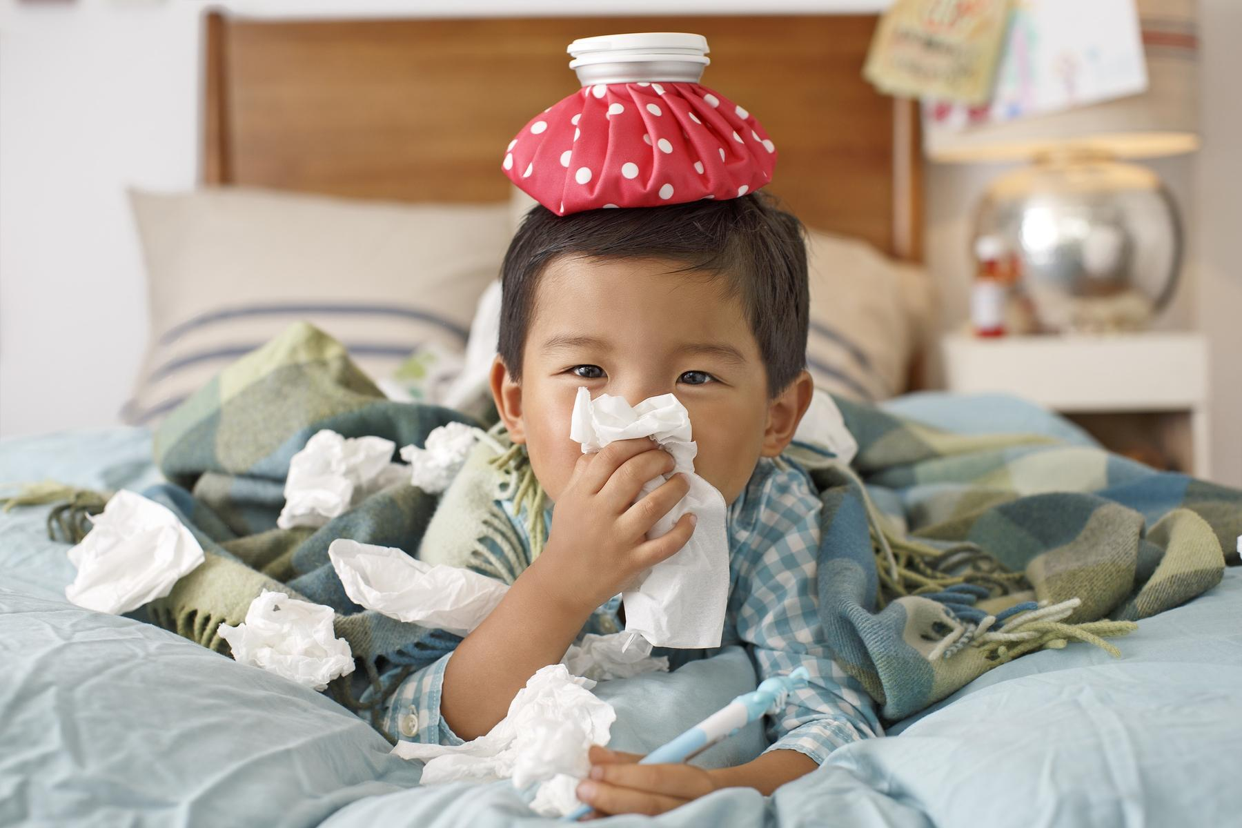 7 Ways to Stay Healthy When Your Kid Is Sick | Parents