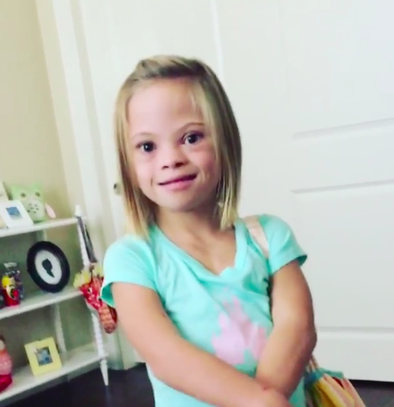 Take It from This Little Girl: Down Syndrome Is 'Not Scary at All!'