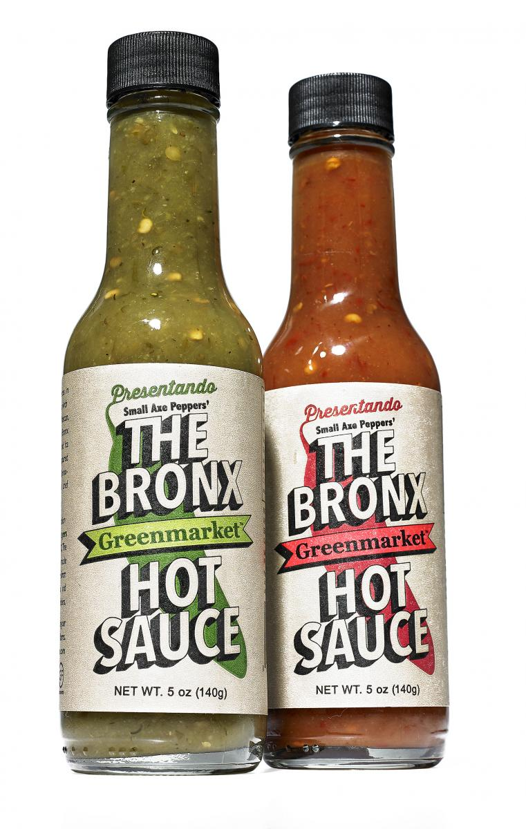Charitable Giving The Bronx Greenmarket Hot Sauce Duo