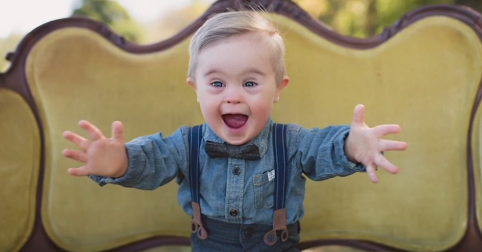 Toddler with Down Syndrome Rejected by Talent Agency Lands Modeling Gig