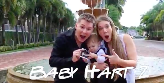 the harts are gearing up for baby #2