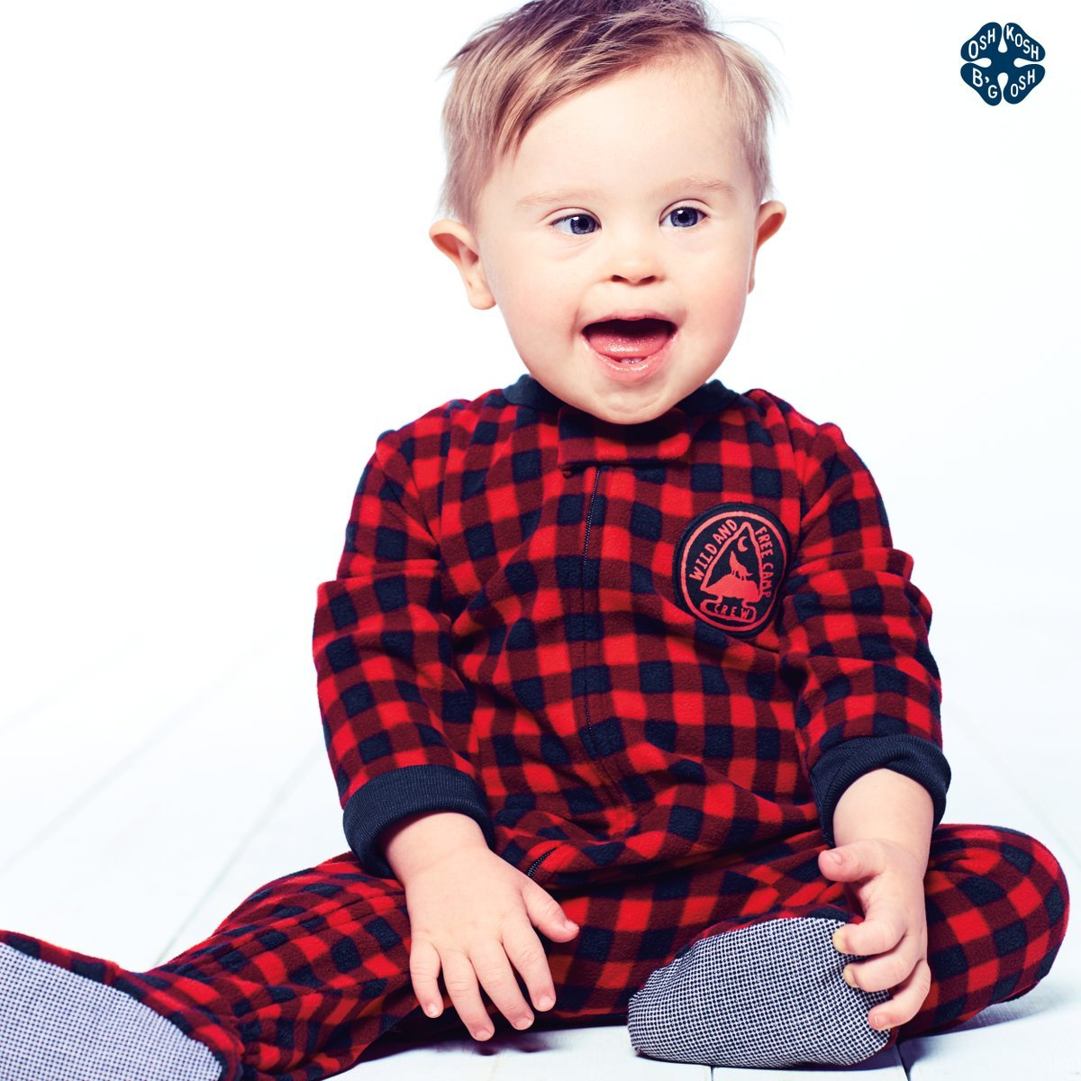 See Asher Nash, Adorable Toddler Model with Down Syndrome, in His First Photo Shoot