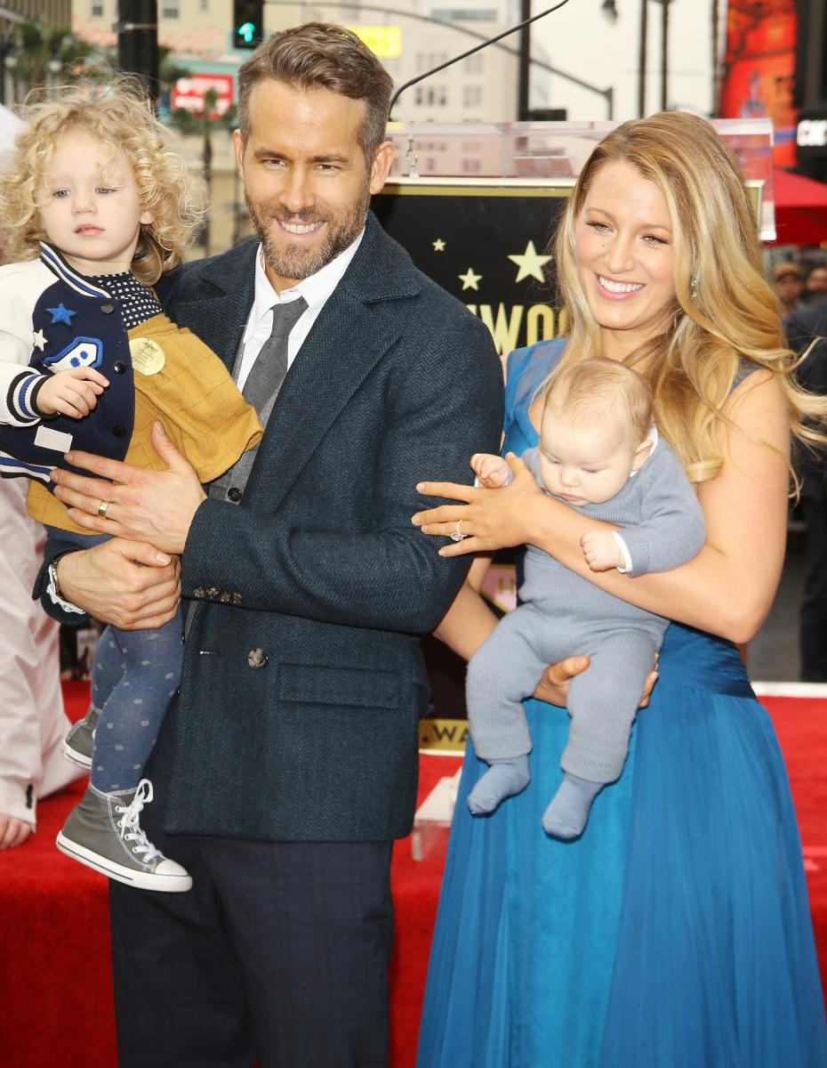 blake lively ryan reynolds and kids