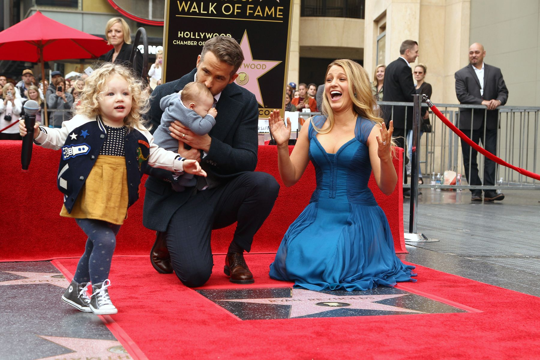 ryan reynolds blake lively and james and baby
