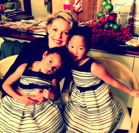 katherine heigl with daughters