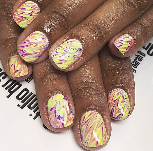 Instagram Beauty Fun with Nails Citrus