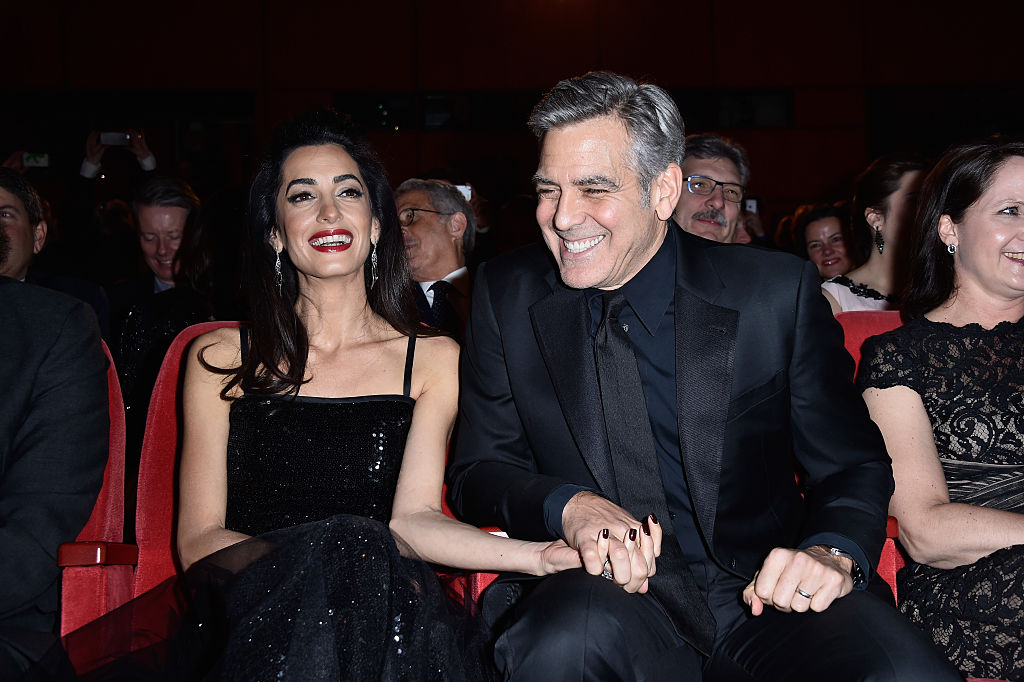 Amal and George Clooney parents-to-be