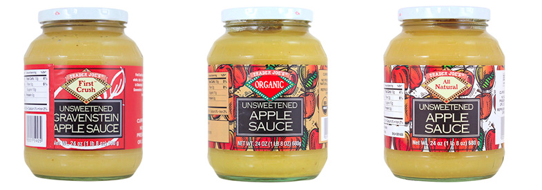 Trader Joe's Applesauce Recall