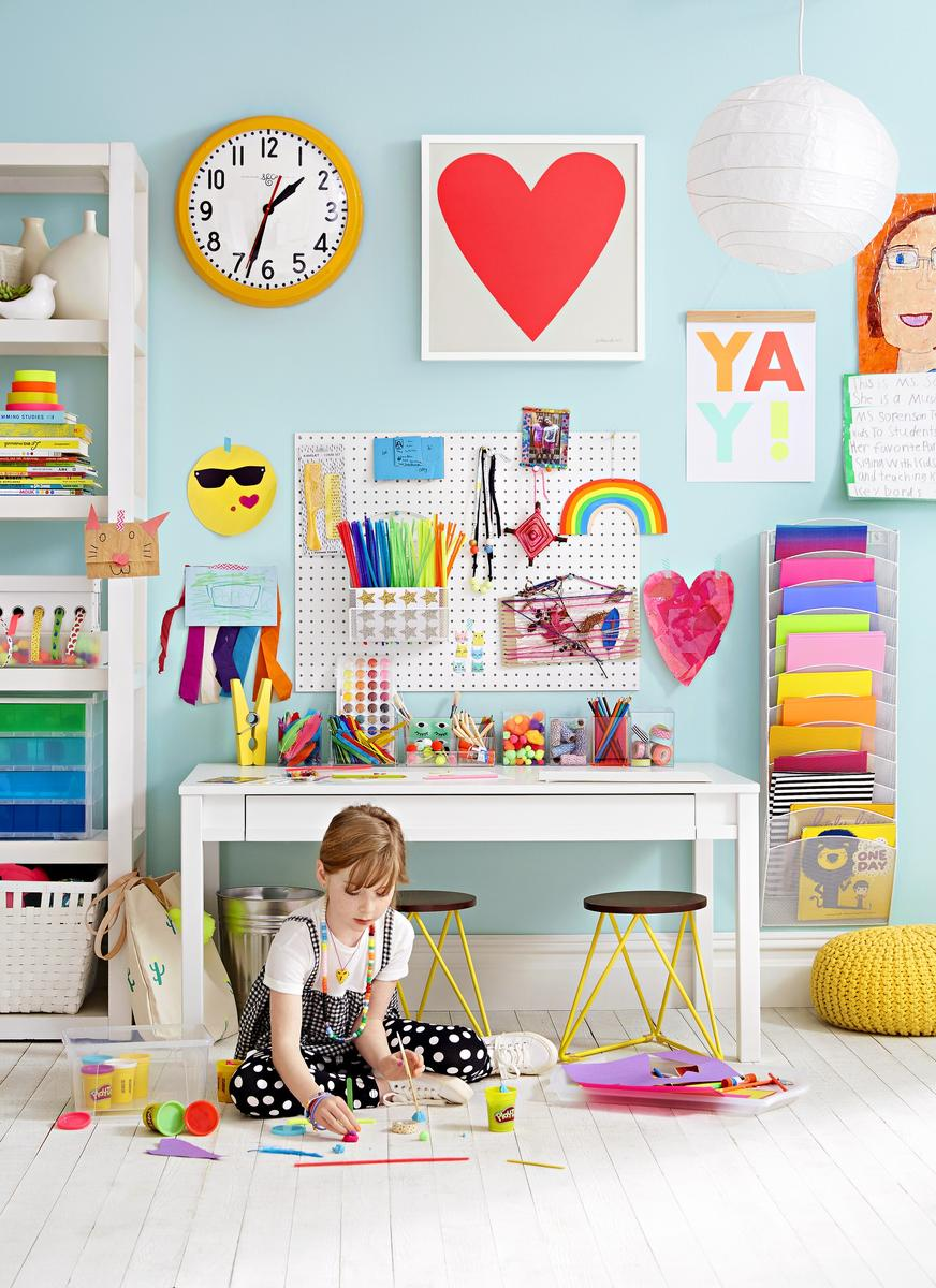 13 Decor Ideas to Spark Kids' Creativity