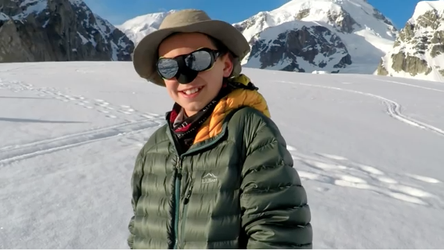 This 13-Year-Old Is Climbing Mountains for Kids with Duchenne Muscular Dystrophy