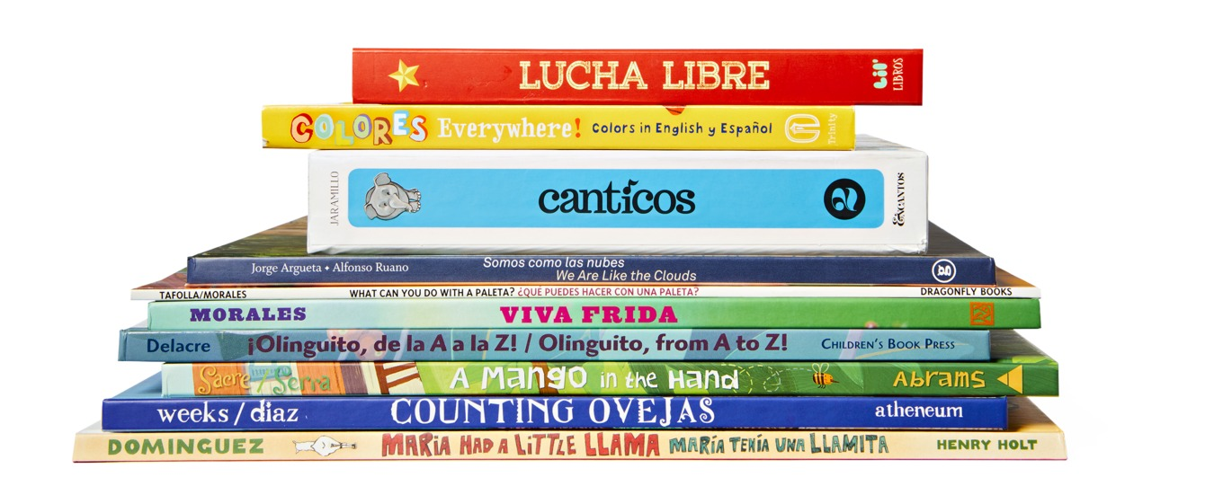 9 Bilingual Board Books in Spanish and English
