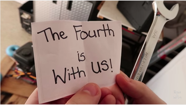 'Star Wars'-Themed Pregnancy Announcement Reveals 'The Fourth Is With Us'