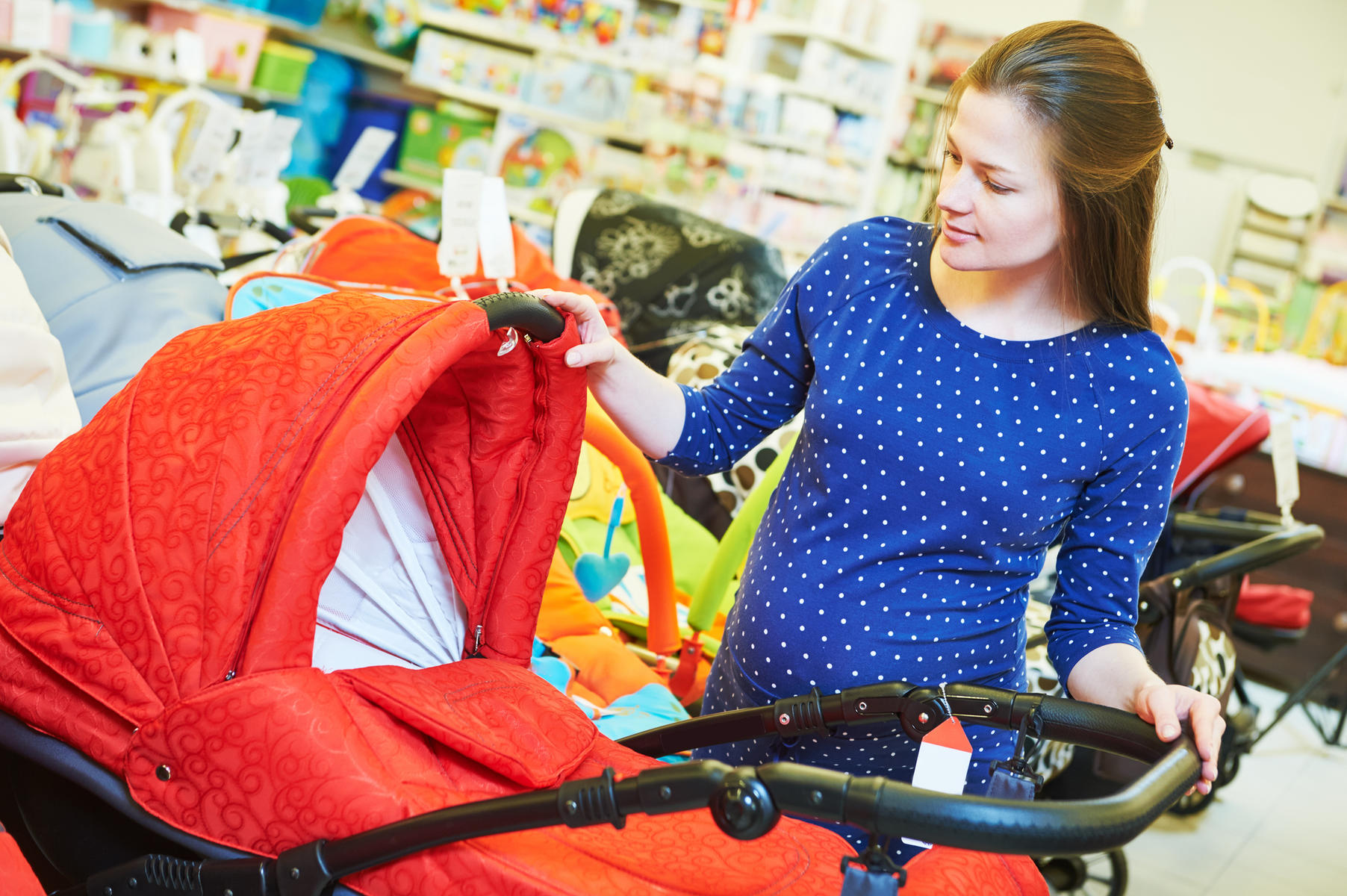 Get a Financial Grip: Buying Baby Gear