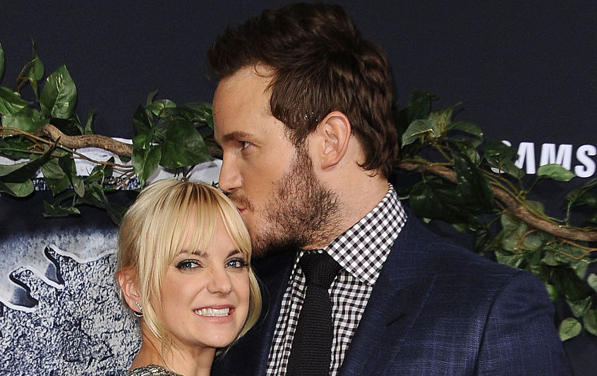 Chris Pratt Anna Faris Jurassic World