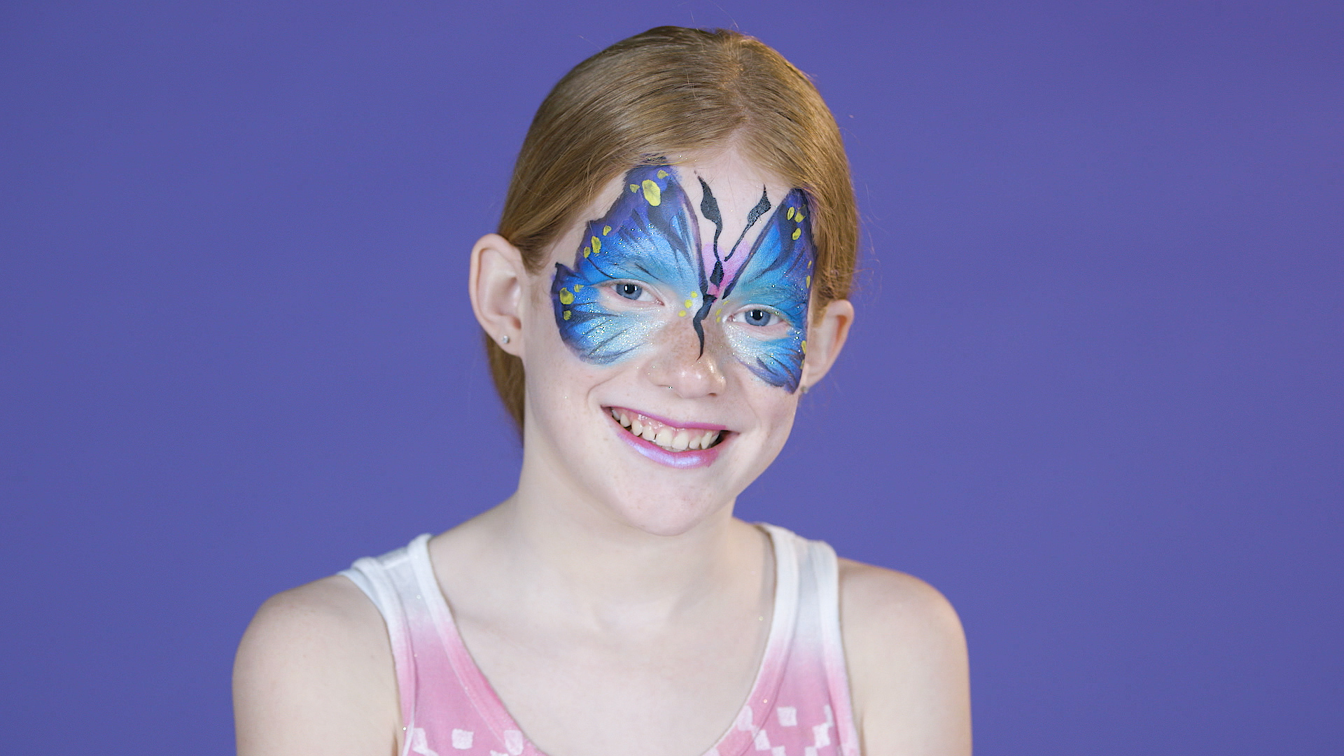 How to Paint a Butterfly Mask