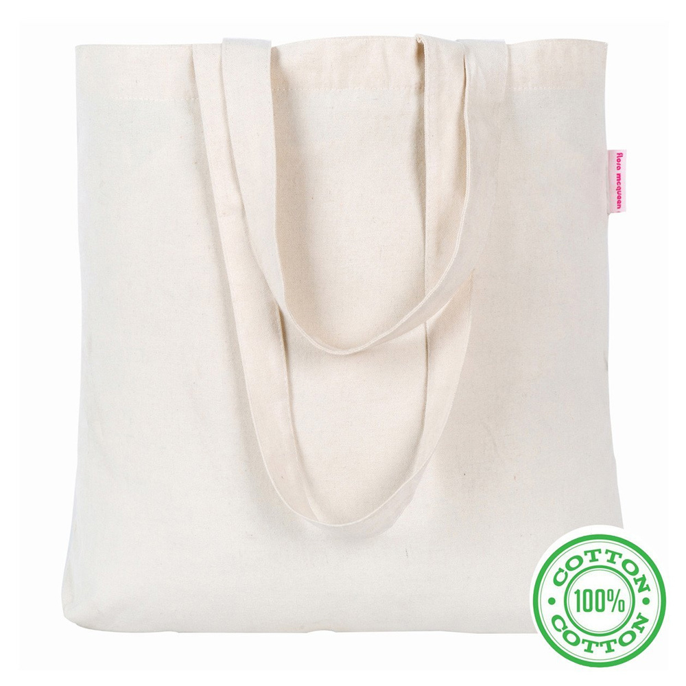 great mother's day gift idea: eco-friendly canvas tote bag for shopping