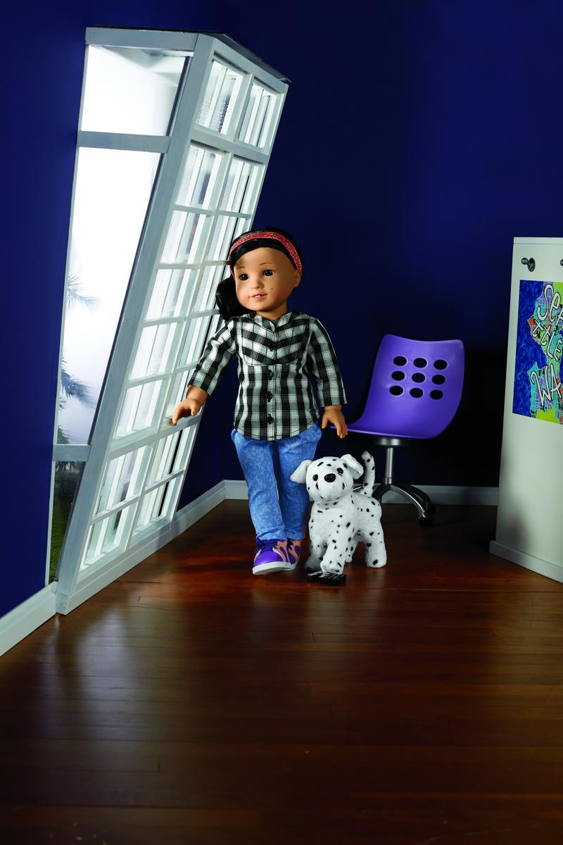 z joins american girl's contemporary characters collection