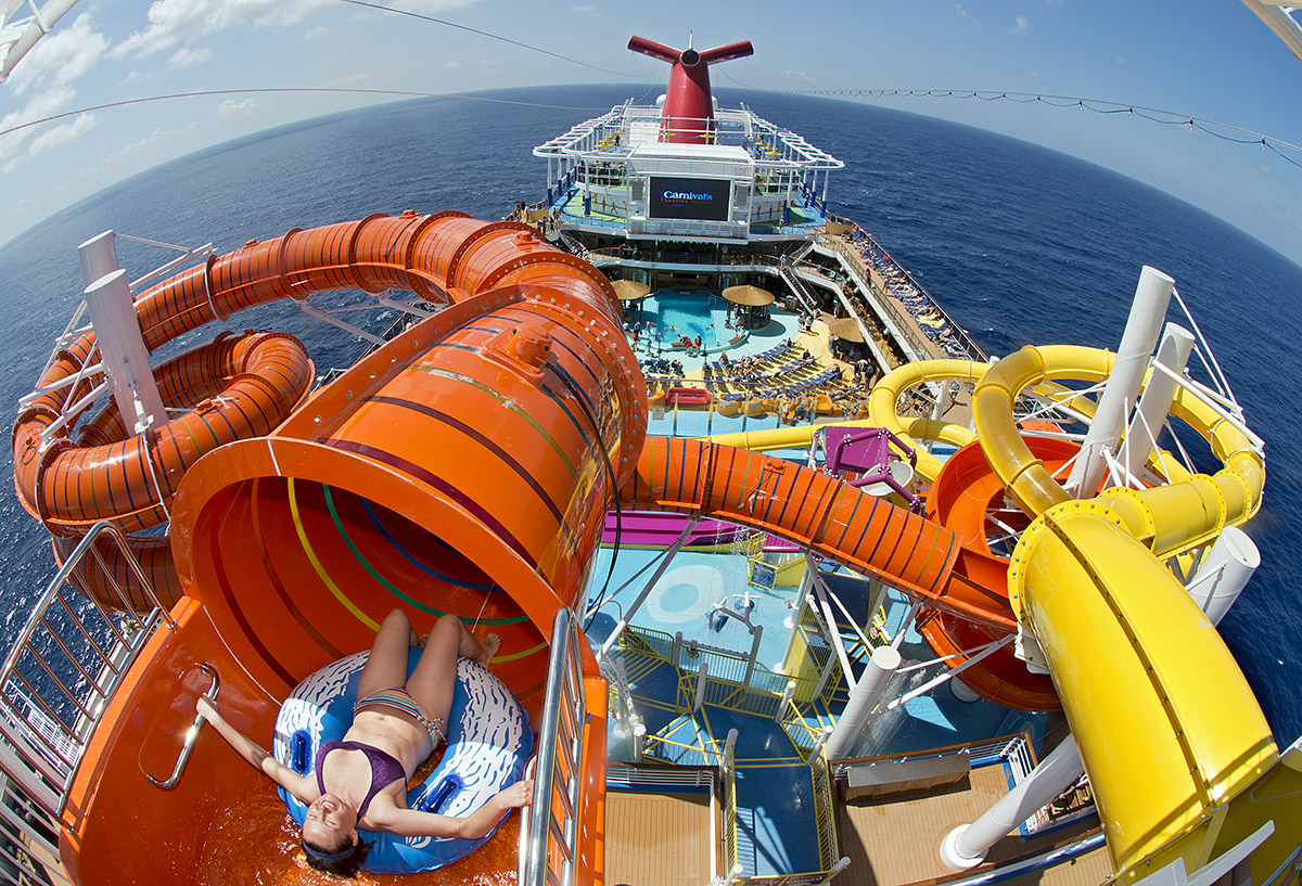 Carnival Cruise Waterpark