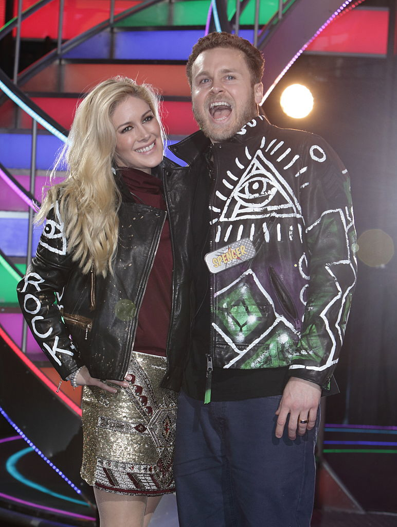 Heidi Montag and Spencer Pratt In Leather Jackets