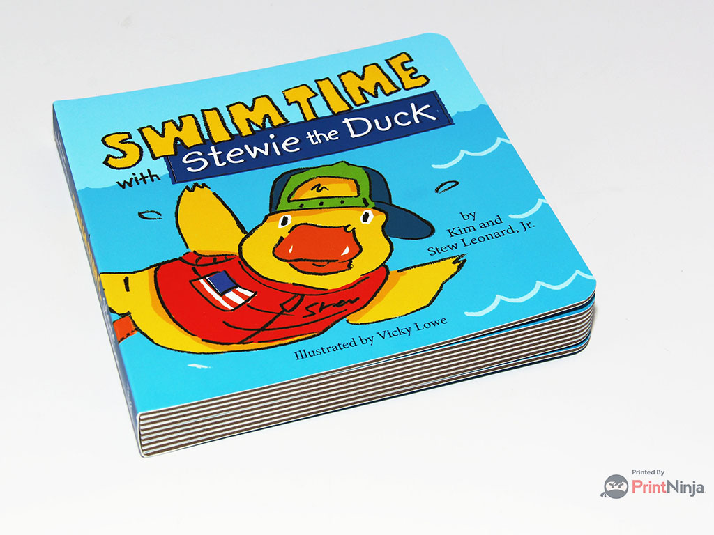 Stewie the Duck book photo