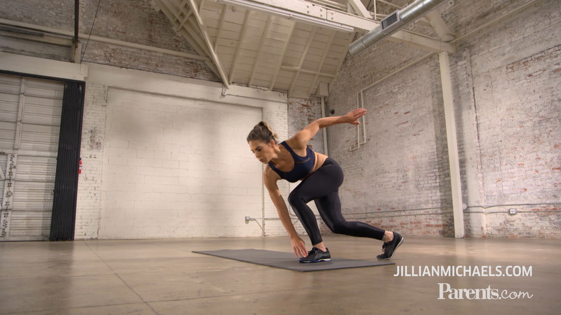 Jillian Michaels' One-Minute Workout for Busy Moms