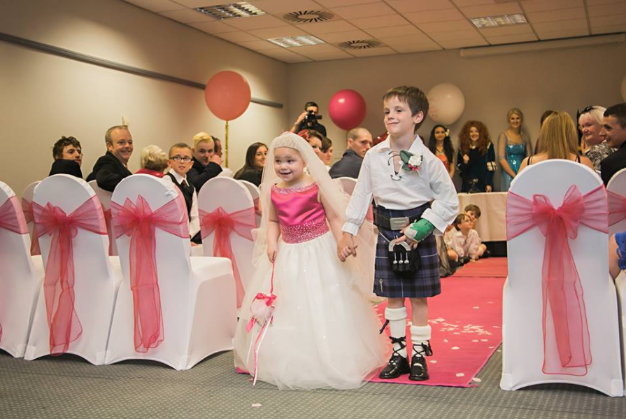 This 5-Year-Old Girl With Terminal Cancer 'Married' Her BFF in a Magical Ceremony