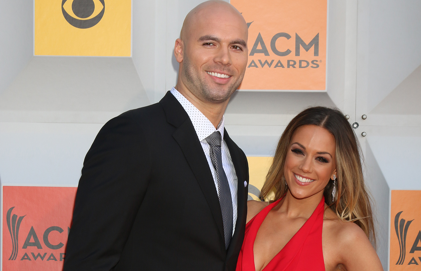 Jana Kramer and Mike Caussin ACM Awards