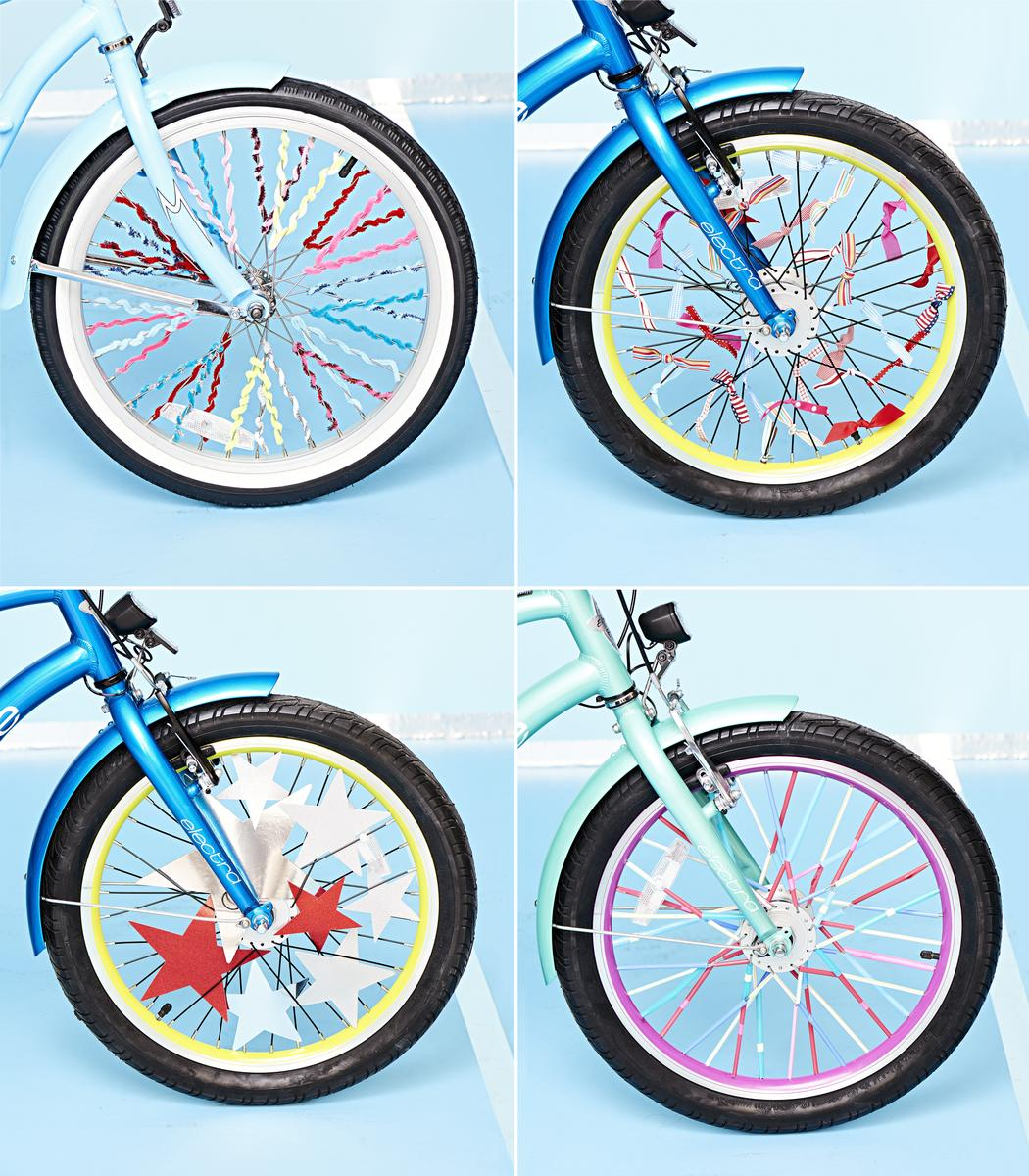4 Fun Ways to Decorate Kids' Bike Spokes