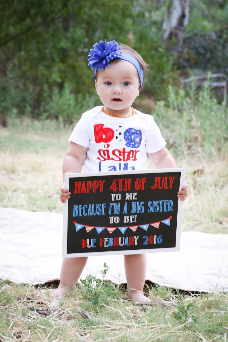 brianna hill fourth of july pregnancy announcement