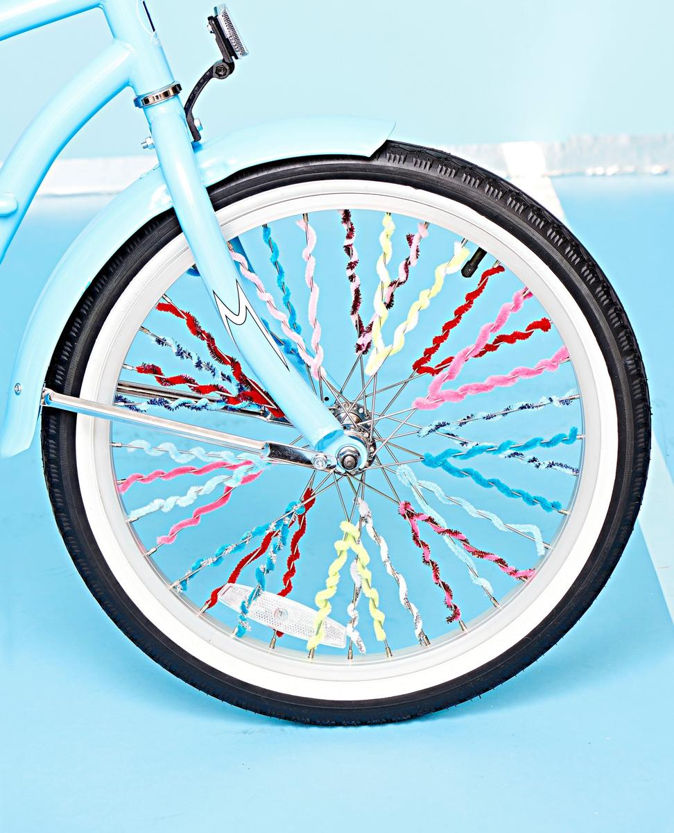 Spokes Decor Pipe Cleaners