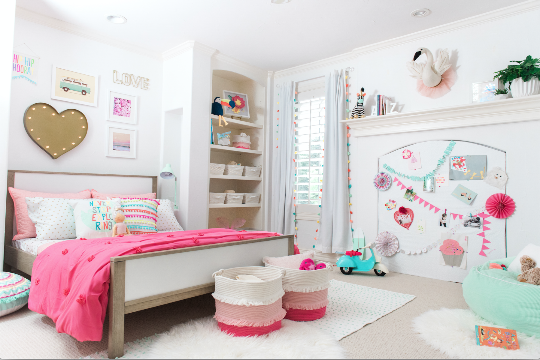 Blogger Leila Lewis Unveils 3 Adorable Kids' Room Redos—Major Decor Inspo Ahead!