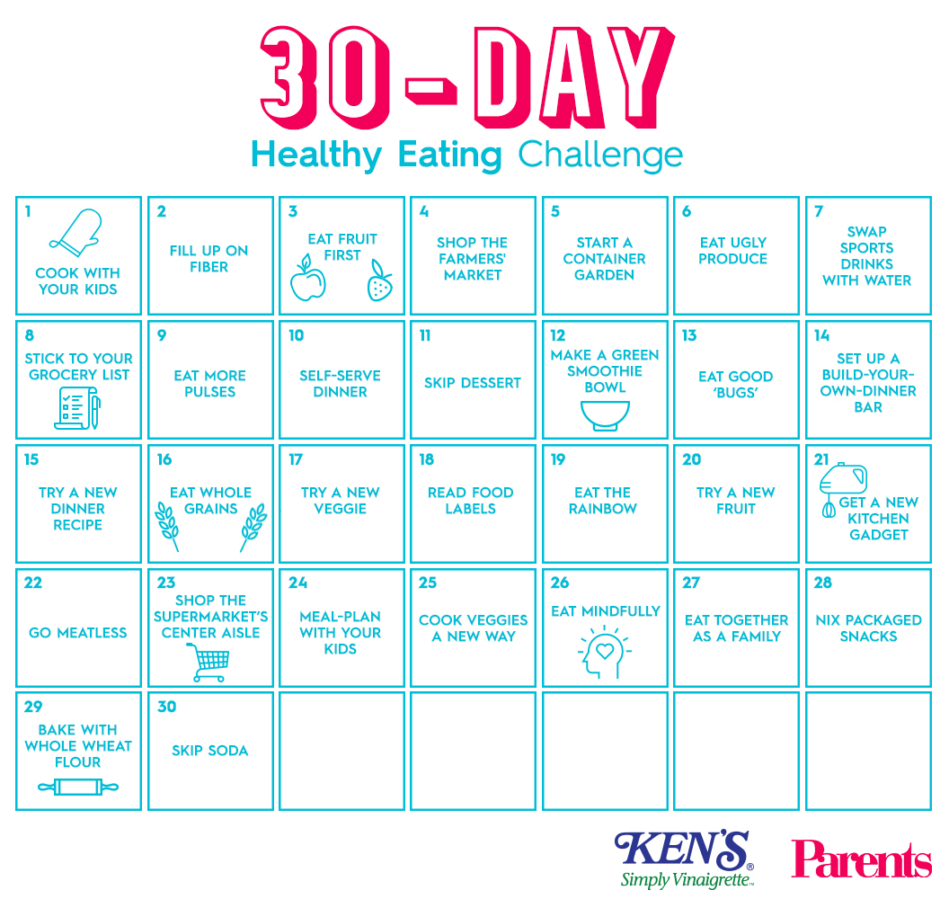 The 30-Day Healthy Eating Challenge